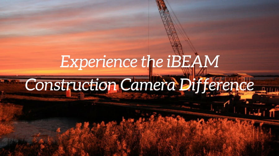 Jobsite photo captured by iBEAM Construction Cameras
