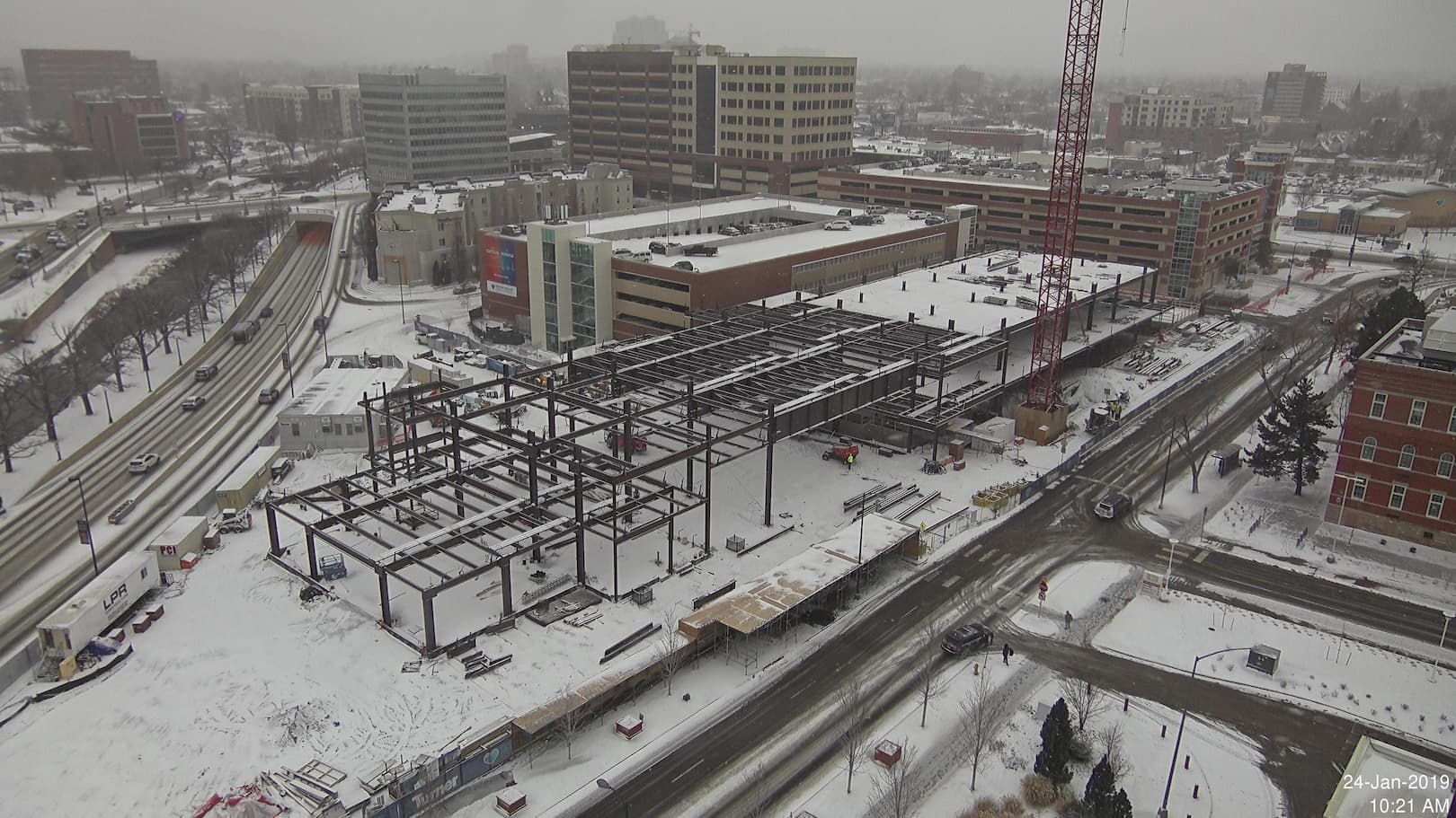 iBEAM Construction Camera working in winter weather
