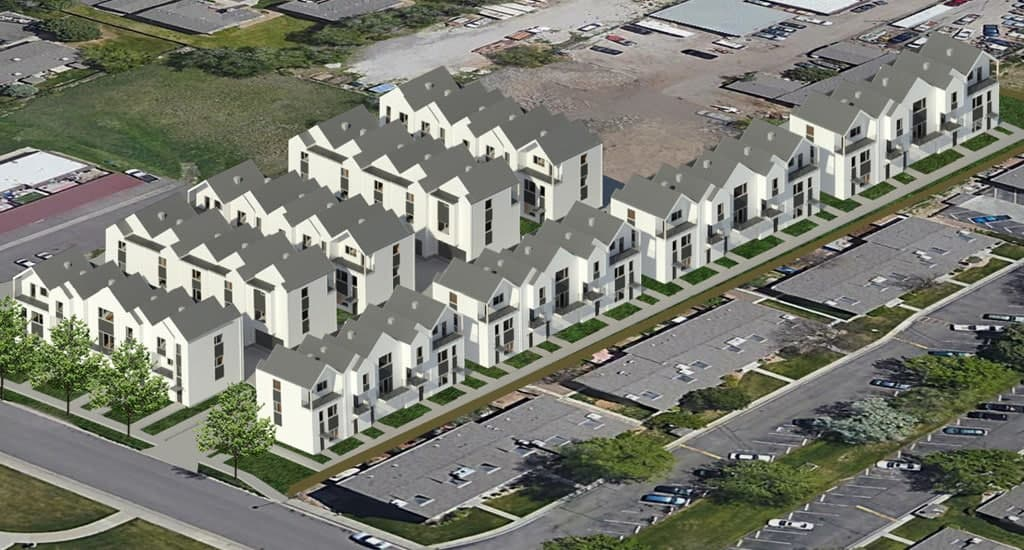 Parkview Place Townhomes by Paradyme Investments