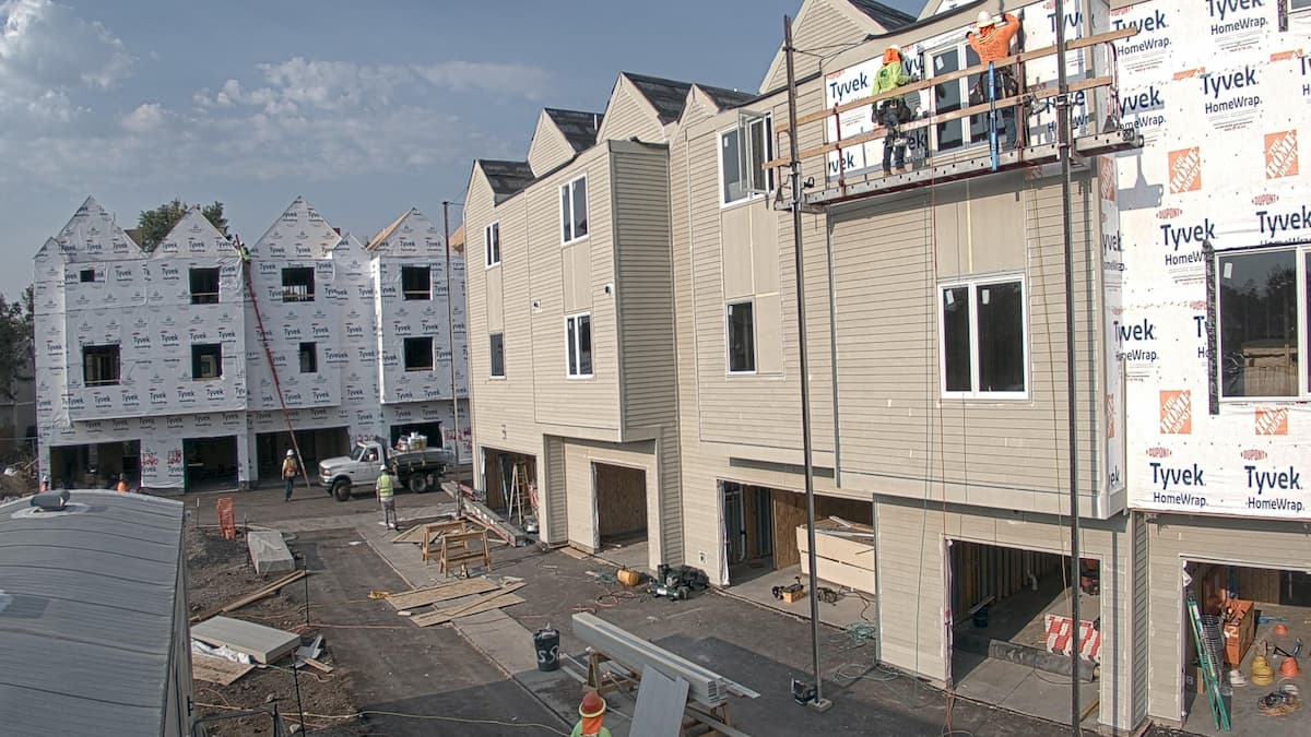 Multi-family construction by Paradyme Investments